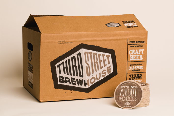 Third Street Brewhouse Mother Carton Designs