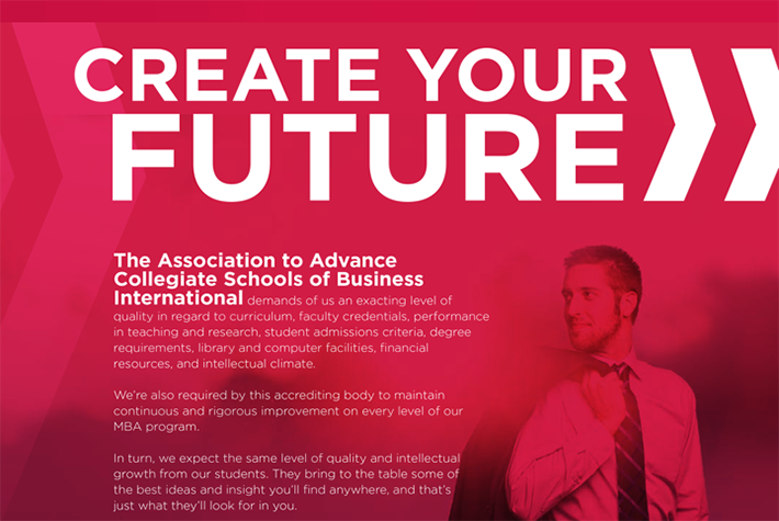 St Cloud State University Way Forward MBA Program Man Pro Booklet Brochure