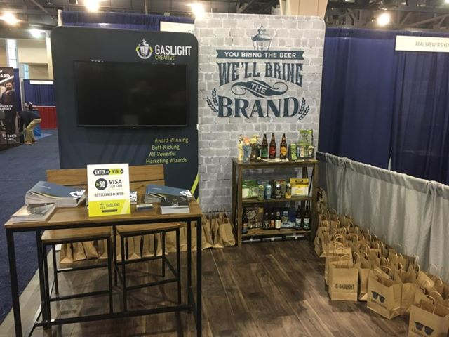 2016 Craft Brewer's Conference Marketing and Design Booth