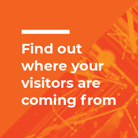 find out where your visitors are coming from
