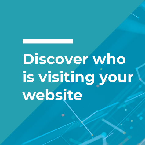 discover who is visiting your website