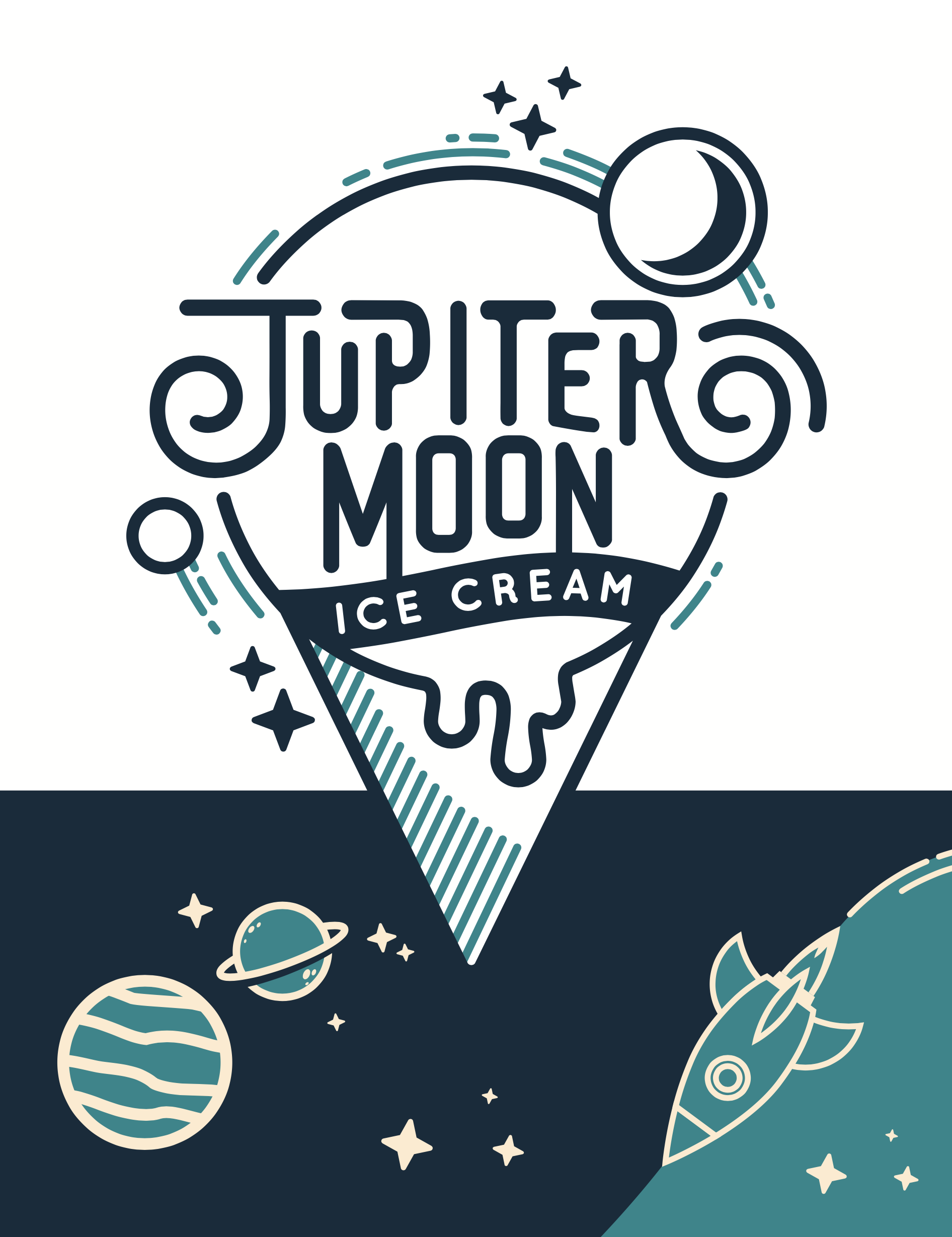 Jupiter Moon Ice Cream