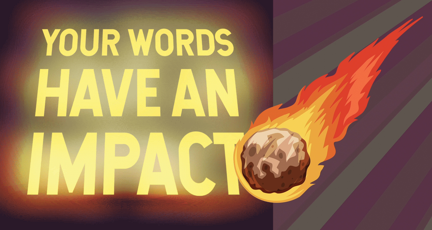 words have impact